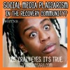 Social Media Plagiarism in Recovery