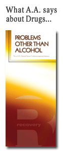 A.A. Pamphlet - Problems other than Alcohol